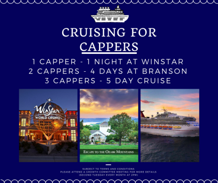 Cruising for Cappers Flyer